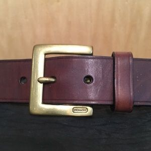 🌲COACH LEATHER BELT🌲